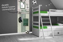 Slaapkamers / Voetbal