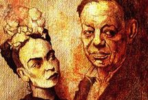 Diego Rivera & Frida Kahlo / by hamoudy younis