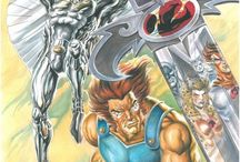 Thundercats and Silverhawks / Everything Thundercats and Silverhawks  / by Stephen Gentry