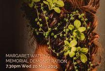 Margaret Watling Memorial Demonstration by Annette Waller & Gislinde Folkerts / Floral Art Demonstration