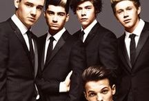One Direction / Harry Styles & the grp extra's.