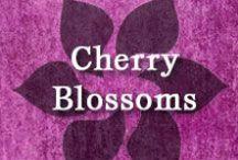 Gumpaste-Fondant Cherry Blossoms / A Collection of Gumpaste-Fondant Cherry Blossom Flowers
