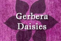 Gumpaste-Fondant Gerbera Daisies / A Collection of Gumpaste-Fondant Gerbera Daisy Flowers