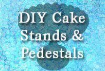 DIY Cake Stands/Pedestals & Ones I Love / A Collection of DIY Cake Stands/Pedestals & Ones I Love