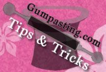 Gumpasting.com Tips & Tricks / Tips & how-to's for sugarcrafting creations from Gumpasting.com