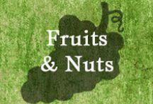 Gumpaste-Fondant Fruits & Nuts / A Collection of Assorted Gumpaste-Fondant Fruits & Nuts
