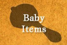Gumpaste-Fondant Baby Items / A Collection of Assorted Gumpaste-Fondant Baby Items