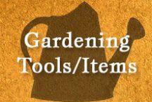 Gumpaste-Fondant Gardening Items/Tools / A Collection of Assorted Gumpaste-Fondant Gardening Items & Tools