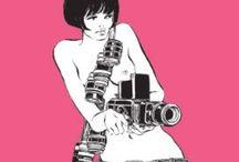 EM Illustrated / Illustrations that capture the Erica M. aesthetic EricaM.com