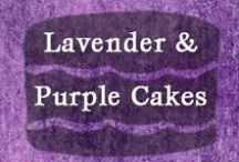 """Lavender & Purple Cakes / Lavender & Purple Cakes This board is devoted to cake ideas that I would like to make for my darling granddaughter (now and in the future). With a lovely name like """"Violet"""" I thought it would be fitting to include some shade(s) of lavender, amethyst or purple in the cakes I make for her."""