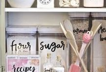 Organizing | DIY / Organizing my life - printables, pretty hacks and other lovely stuff for getting my S*** together - 2016 here we come!