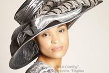 Hats for Social Occasions #1-Black, Silver, Gray