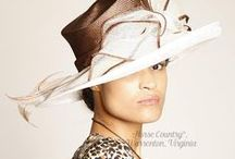 Hats for Social Occasions #3- Brown, Taupe, Green