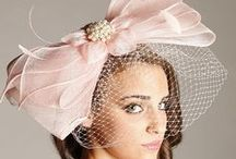 Hats for Social Occasions #4- Pink, Red, Orange