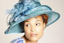 Hats for Social Occasions #5- Blue, Navy, Turquoise, Purple