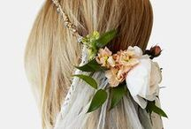 Wedding Hair / Ideas and inspiration for your big day.