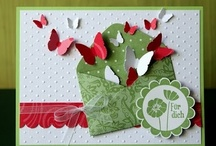 Miscellaneous Card Ideas / Love the design elements on these cards- easy to translate for any occasion!