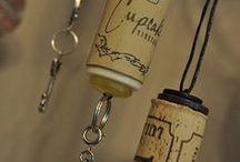 Wine Cork Crafts / by Wasamkins