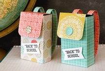 Back to School / Ideas for the first day of school and teacher appreciation.