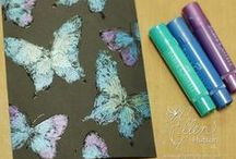 Alcohol Inks-Sprays-Ink Pads-Embossing & Glitter Powders / by Wasamkins