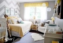 Baby's Nursery & Playroom Ideas / Fun DIY projects and design ideas to decorate a nursery or playroom.