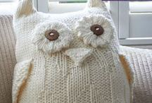Owls / knitting patterns and designs ideas / by Claire Fairall Designs