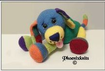 ideas for knitted toys / Lots of knitted cuddly toys to inspire creativity / by Claire Fairall Designs