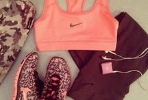 Workout Outfits / Looking good at the gym is definitely a motivating factor!