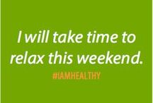 #IAmHealthy / Healthy habits you can be proud of!