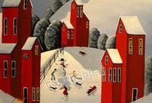 Interesting -Folk Art / by Sharon Rains