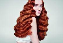 Red Hair / Red Head I Carrot Top I Reds Turn Heads I Fiery I Flaming Hot I Bold I RAVISHING RED HEADS Our pic of ravishing red heads at Paul Mitchell Luxury Hair Care.