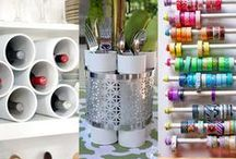 Craft Room Organization Ideas / by Wasamkins
