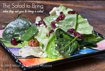 Salads / Delicious salad recipes for parties, barbeques, pot lucks, or just for your dinner at home.