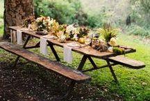 Rustic + Elegant Wedding Inspiration