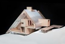 model behavior / Architectural models, as examples mostly of what I hope to be able to build. / by Becca Fletcher