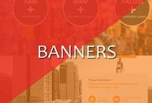 Banners / Banner are used in your online presence. You can attract customers with a good banners it's a biggest & most important part of your website, social media pages.