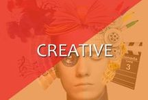 Creative / Creative is basically used for multiple purposes. You can use them in print media & digital media both.