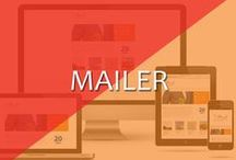 Mailers / Engage user with Design n content. Be it internal or external audience mailers always play an important role