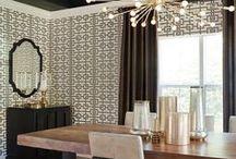 Wallpaper / Ideas for dining room