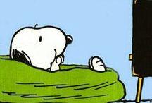Peanuts / Snoopy ~ Charlie Brown ~ Woodstock / by Micha M.