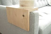 wood projects to try / DIY ideas using the beautiful medium of wood.