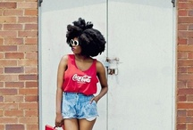 Trendy Curlies / Natural hair and fashion...I love it like I love chocolate.  All the Curlies on this board are HAWT honey! Yessss