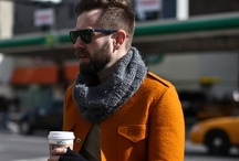 I like my man in... / If I could dress a man.  Inspired by Street Fashion Photography...NY, Milan...