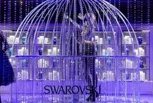 JUSTSO & Swarovski Christmas Windows