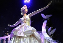 JUSTSO & Cinderella / JUSTSO creatively directed window displays based around Disney characters.
