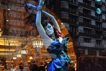 JUSTSO & The Little Mermaid / JUSTSO creatively directed window displays based around Disney characters.