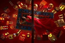 JUSTSO & Aladdin / JUSTSO creatively directed window displays based around Disney characters.