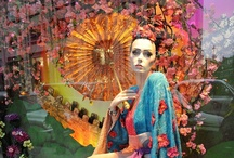 JUSTSO & Mulan / JUSTSO creatively directed window displays based around Disney characters.