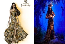 JUSTSO & Pocahontas / JUSTSO creatively directed window displays based around Disney characters.