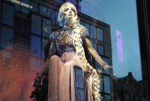 JUSTSO & Rapunzal / JUSTSO creatively directed window displays based around Disney characters.
